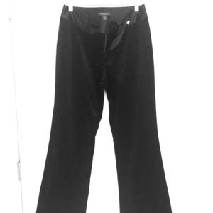 Banana Republic velvet trouser pants